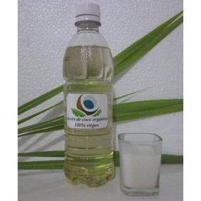 Aceite De Coco Extra Virgen. 1/2 Litro. Prensado Al Frío.