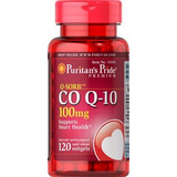 Coenzima Co Q-10 100mg 120 Capsulas De Puritan