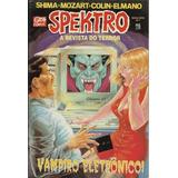 Spektro A Revista Do Terror Nº 1 - Nova Série