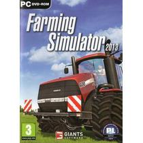Farming Simulator 13 - Simulador Fazenda - Pc - Dvd-rom