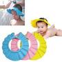 Chapéu Protetor Para Olhos Ouvidos Banho Bebe Cabelo Crianca