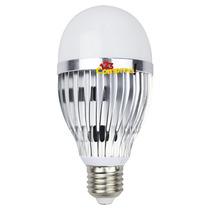 Lâmpada Led 9w Bulbo Branco Frio E27 Alumínio Bivolt Casa