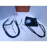 Kit De Enfermeria + Estetoscopio Rappaport + Term Regalo