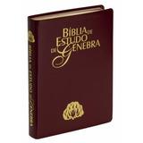 Bíblia De Estudo De Genebra Vinho Nobre