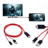 Cable Mhl Adaptador Microusb A Hdmi Galaxy S3 Y 4 Note 2 Y 3