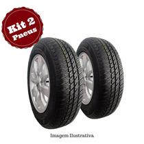 Kit 2 Pneu 175/70 R14 Remold Pirelli Gw Tyre 5 Anos Garantia