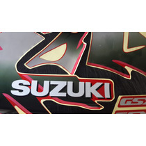 Calcos Suzuki Gsx 600 - 750- 1100 F Katana Moto Roja