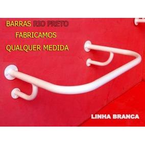 1 Barra De Apoio P/ Pia + 2 Reta De 80cm