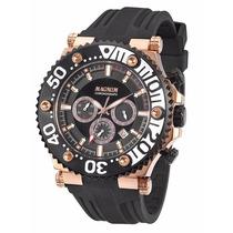 Relógio Magnum Masculino Borracha Ma32121