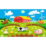 Painel Banner Decoração Festa Infantil Fazendinha 1,80x1,20