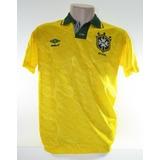 Camisa Seleção Brasileira 1993 Romário Umbro Oficial Novinha