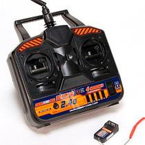Rádio 4 Canais Hobby King Hk-t4a 2.4ghz Modo 2 Com Receptor