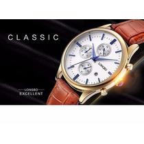 Reloj De Hombre Cuarzo Excelente Acabado Longbo