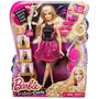 Set De Muñeca Barbie Rizos Para Peinar . Original!