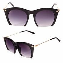 Óculos De Sol Feminino Espelhado Fashion Redondo Moda Verão
