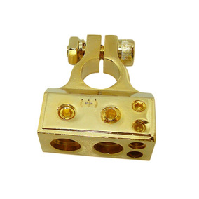 Terminal De Bateria Technoise Ouro Completo - Pólo Positivo