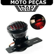 Acessório P. Harley Custom Lanterna Moto Grelha Sup Placa