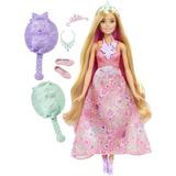 Boneca Barbie Dreamtopia Princesa Cabelos Coloridos Dwh42