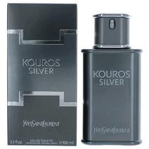 Perfume Kouros Silver Masculino Edt 100ml - 100% Original.
