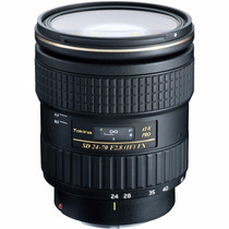 Tokina Canon 24-70mm F/2.8 At-x Pro Fx F2.8 24-70 Sigma 2.8