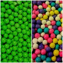 Chocoretas Confitadas Verdes O Colores Dulces Fiesta Reventa
