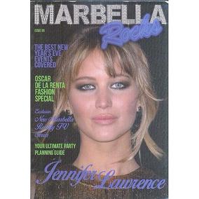 Revista Marbella Rocks: Jennifer Lawrence / Oscar De La Rent