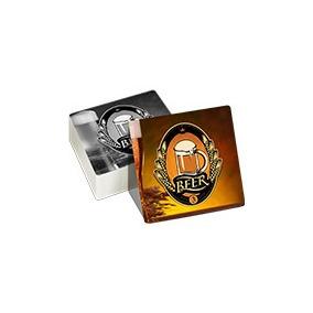 Bolachas Porta Copos Quadrado Personalizado
