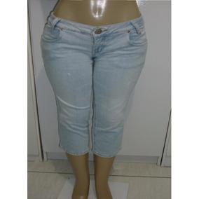 Calça Jeans Feminina Tam. 40 C/ Strech Marca Osmoze S6