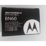 Bateria Motorola Bn60 Motocubo A45/ Qa30 Hint/ I856 Original