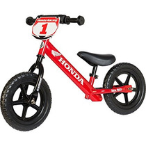 Strider 12 Sport No-pedal Bike Balance Honda Red