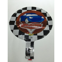Balão Carros Corrida (20cm Centro De Mesa) - Pacote C/ 15 Un