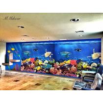 Foto Mural Aquario
