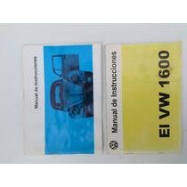 Manual Del Propietario Vw Sedan 1200 Y 1600