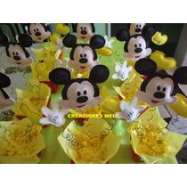 Centro De Mesa Mickey Mouse.