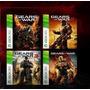 Gears Of War 1,2,3, Judgment Codigos Para Xbox 360 Y One