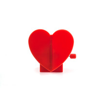 Kikkerland Juegos Corazón Cuerda Palpitando Windup