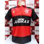 Camisa Flamengo Retro Lubrax 10 Zico