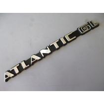 Vw Atlantic Gl Emblema Trasero Autos Nuevo 1976-1987 Mk1