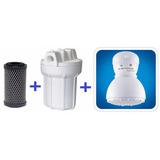 Filtro Purificador De Água Com Ducha Corona Elétrica 220 V