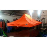 Carpa Plegable 4,50 X 3 +3 Paredes +bolso 4 Estacas