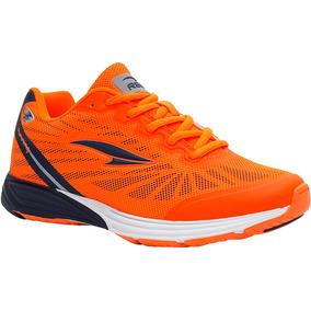 Zapatos Deportivos Rs21 Irradio Dama (naranja/azul Marino)