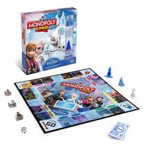 Monopoly Monopolio Junior Frozen Juego De Mesa Hasbro
