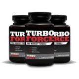 Turbo Force Suplemento - 3 Potes - 180 Cápsula