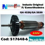 Induzido Original P/esmerilhadeira Ga 4530 220v Makita