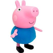 Boneco George Pig De Vinil Original Multibrink 8351