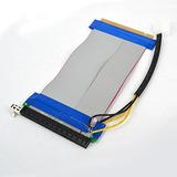 Flexible Adaptador Extensor Bitcoin Miner Pci-e 16x-16x Vert