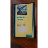 Libro Robinson Crusoe. Edicion La Prensa