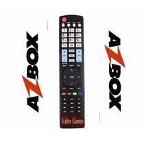 Controle Remoto Azbox Bravoo+ Hd Pronta Entrega