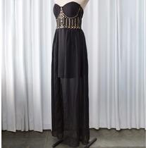 Vestido Tomara-que-caia Mullet Forver 21 Blogueira Tachinhas