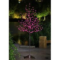 Árbol De La Flor Lightshare 6 Pies 208l Led Rose, Jardín In
